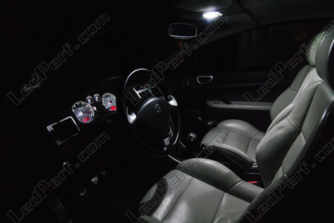 pack full leds int rieur pour peugeot 307. Black Bedroom Furniture Sets. Home Design Ideas