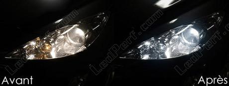 pack ampoules de feux phares xenon effect pour peugeot 308. Black Bedroom Furniture Sets. Home Design Ideas