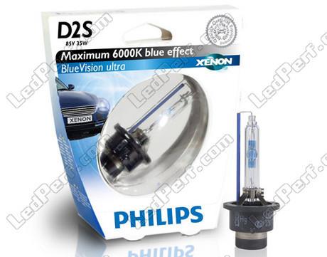Ampoule xenon d2s philips 6000k