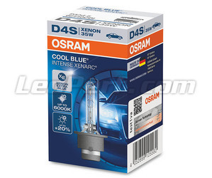 Ampoule Xénon D4S Osram Xenarc Cool Blue Intense 6000K dans son emballage - 66440CBI