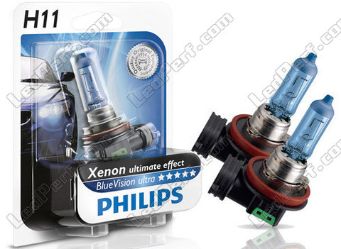 Ampoules Philips H11 White Vision - Ultimate Xenon Effect