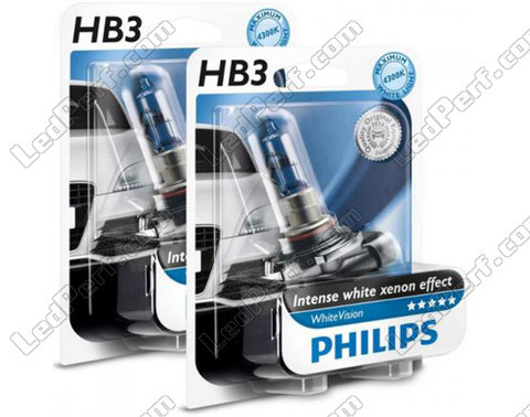 Pack de 2 Ampoules HB3 9005 Philips WhiteVision