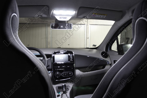 pack full leds int rieur pour renault zoe. Black Bedroom Furniture Sets. Home Design Ideas