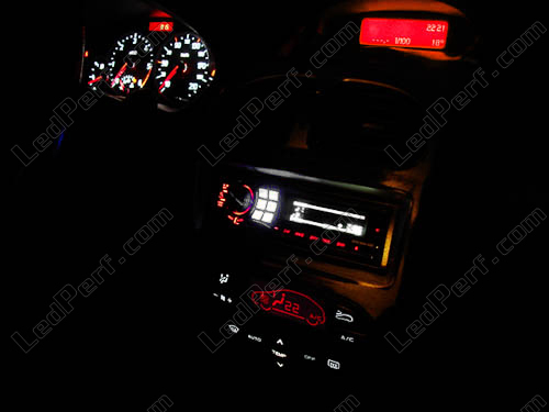 kit clairage led compteur bleu pour peugeot 206 mux ebay. Black Bedroom Furniture Sets. Home Design Ideas