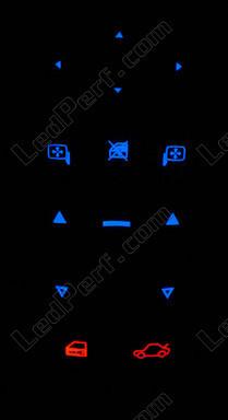 [PARTENARIAT] LedPerf.com - Eclairage automobile à LEDS Retro_commande_conducteur_bleu_opel_vectra_c