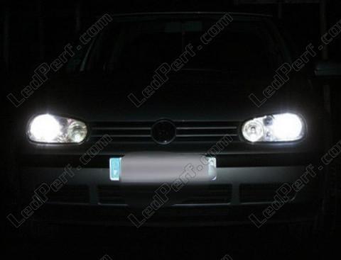 pack ampoules de feux phares xenon effect pour volkswagen golf 4. Black Bedroom Furniture Sets. Home Design Ideas