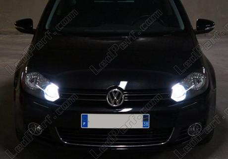 pack ampoules de feux de jour et de route h15 xenon effects pour volkswagen golf 6. Black Bedroom Furniture Sets. Home Design Ideas