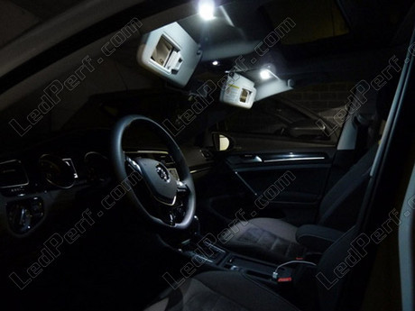 Pack full leds int rieur pour volkswagen golf 7 for Interieur golf 7