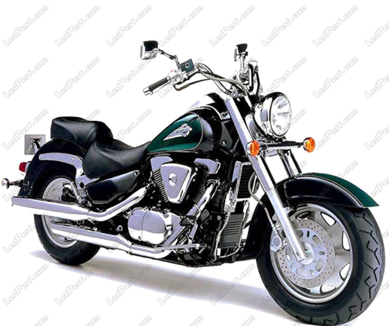 Ampoule Pour 15001998 Intruder Moto Suzuki 2009 Led 5A3LqSc4Rj
