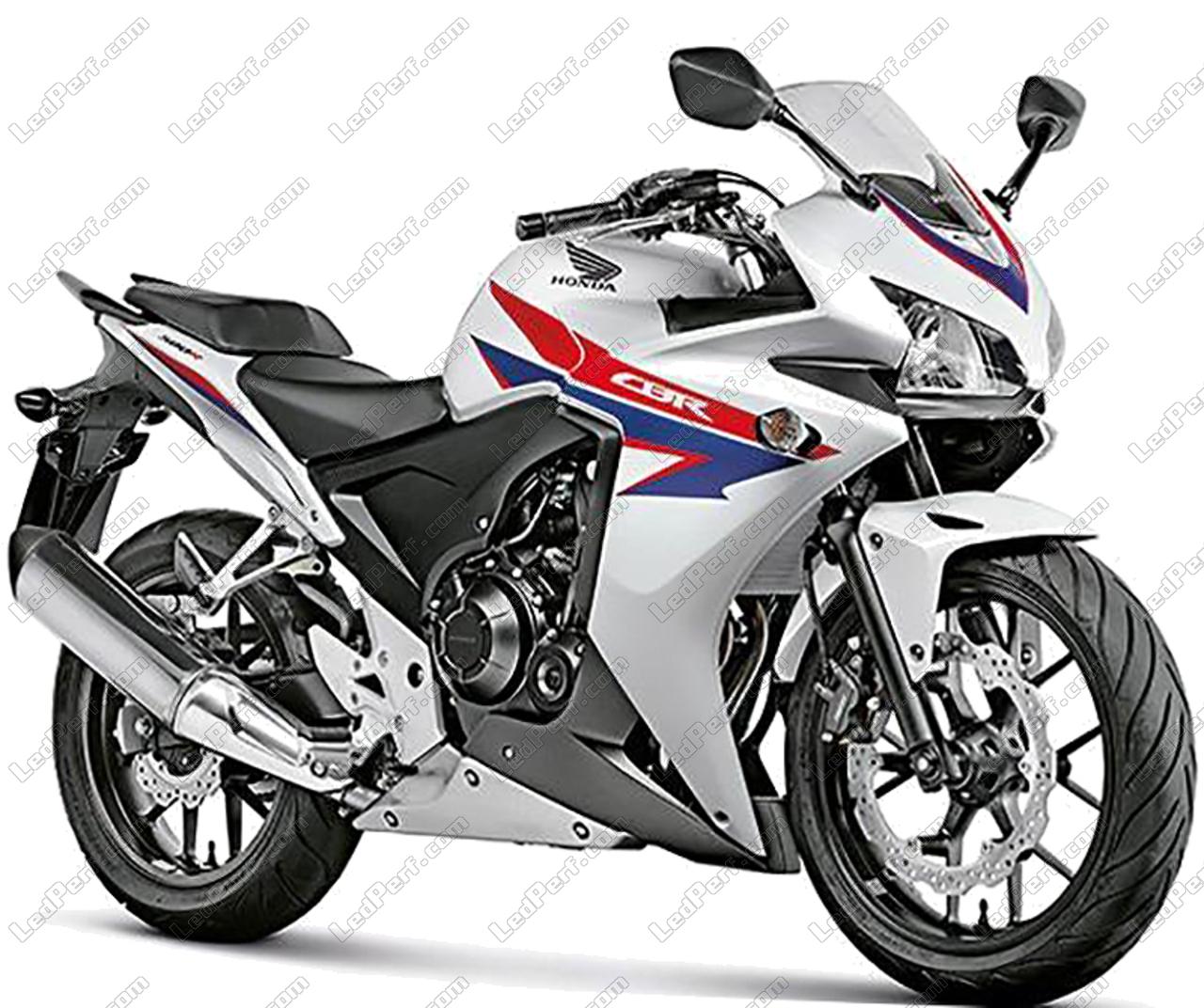 Honda CBR 500 R 2013-2015 Phare avant de remplacement feu de moto