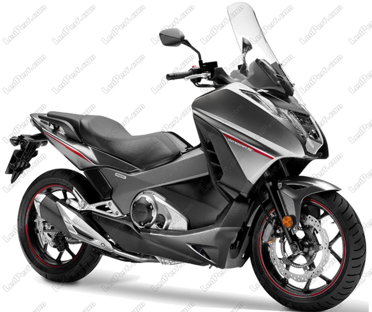 Pack Leds Veilleuses Pour Honda Integra 700 750 (feux De