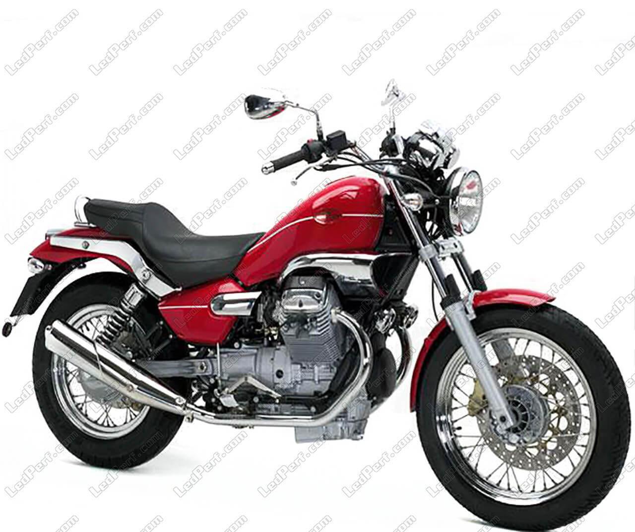 phares additionnels led pour moto moto guzzi nevada club 750. Black Bedroom Furniture Sets. Home Design Ideas