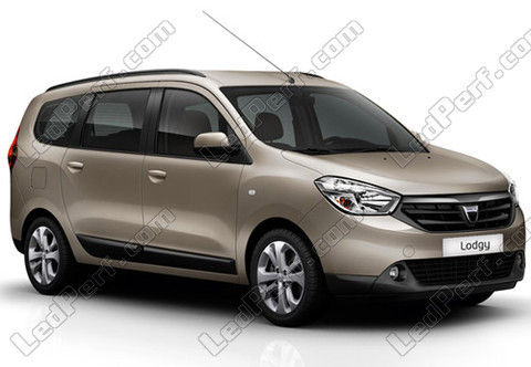 Voiture Dacia Lodgy (2012 - 2021)