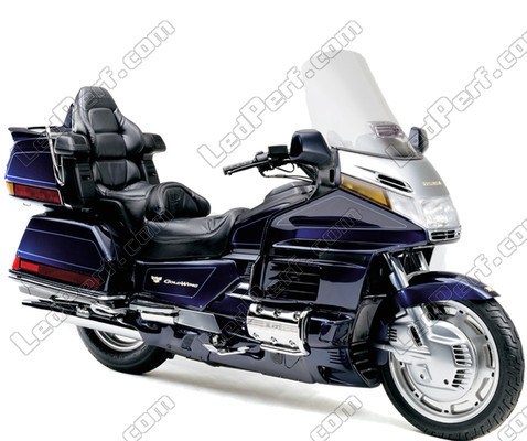 pack leds veilleuses pour honda goldwing 1500 feux de position. Black Bedroom Furniture Sets. Home Design Ideas