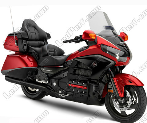 pack leds veilleuses pour honda goldwing 1800 2012 2018 feux de position. Black Bedroom Furniture Sets. Home Design Ideas