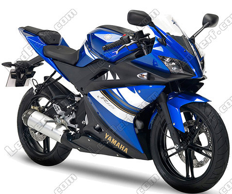 pack ampoules de feux phares xenon effect pour yamaha yzf r125 2008 2013. Black Bedroom Furniture Sets. Home Design Ideas