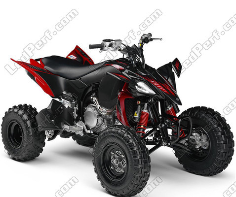 pack ampoules de feux phares xenon effect pour yamaha yfz 450 raptor. Black Bedroom Furniture Sets. Home Design Ideas