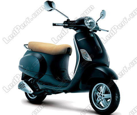 pack leds veilleuses pour vespa lx 125 feux de position. Black Bedroom Furniture Sets. Home Design Ideas