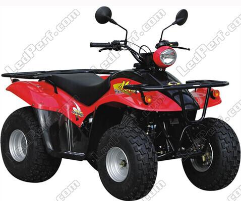quad kymco mxer 150