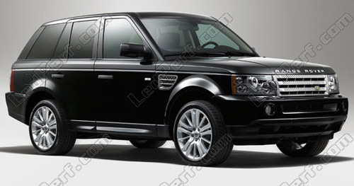 Plug /& Play * S/'adapter RANGE ROVER SPORT 03 DEL Blanche plaque d/'immatriculation Ampoule