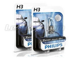 Pack de 2 Ampoules H3 Philips BlueVision Ultra