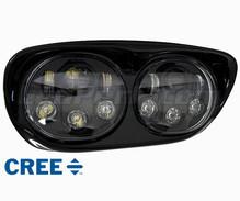 optiques full led pour phares ronds de moto. Black Bedroom Furniture Sets. Home Design Ideas