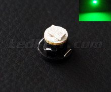 Led sur support T4.7 verte 12V