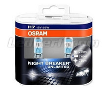 Pack de 2 Ampoules H7 Osram Night Breaker Unlimited