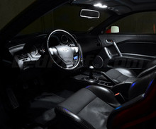 Pack intérieur luxe full leds (blanc pur) pour Hyundai Coupe GK3