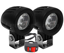 Phares additionnels LED pour Aprilia Sport City One 50 - Longue portée