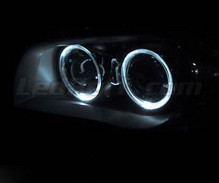 Pack angel eyes à leds (blanc pur) pour BMW Serie 1 phase 1 - MTEC V3