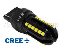 Ampoule W21W LED T20 Ultimate Ultra Puissante - 24 Leds CREE - Anti erreur ODB