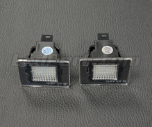 Pack de 2 modules led plaque immatriculation arrière Mercedes (type 1)