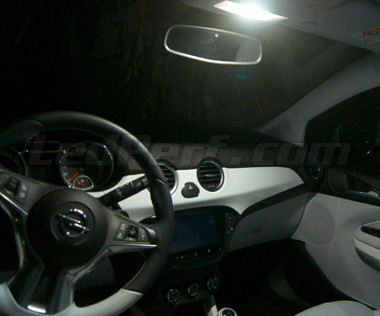 Pack full leds int rieur pour opel adam for Interieur opel adam