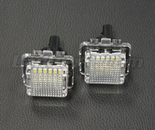 Pack de 2 modules led plaque immatriculation arrière Mercedes (type 3)