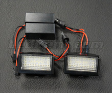 Pack de 2 modules led plaque immatriculation arrière Mercedes (type 5)
