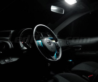 Pack full leds int rieur pour toyota yaris 3 for Interieur yaris 2007