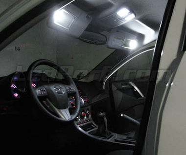 Pack intérieur luxe full leds (blanc pur) pour Mazda 6