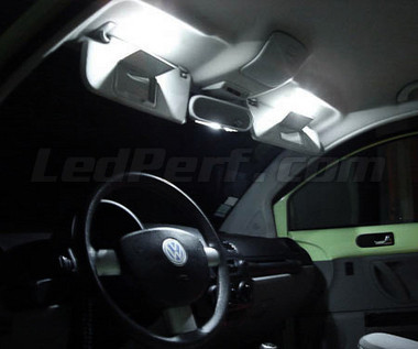 Pack full leds int rieur pour volkswagen new beetle 1 for Interieur new beetle