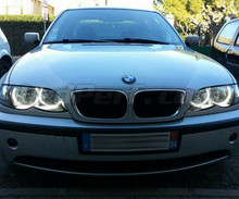 Pack angel eyes à leds pour BMW E36 E38 E39 E46