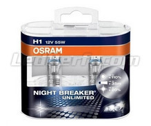 Pack de 2 Ampoules H1 Osram Night Breaker Unlimited