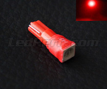 Ampoule T5 Cube à led HP rouge (w1.2w)