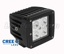 Phare additionnel LED CREE Carré 16W pour Moto - Scooter - Quad