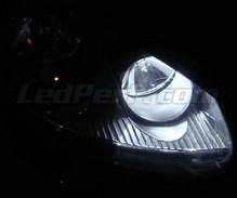 Pack veilleuses à led (blanc xenon) pour Volkswagen Jetta III