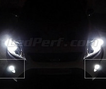 Pack antibrouillards à led (blanc xenon) pour Ford Focus MK2