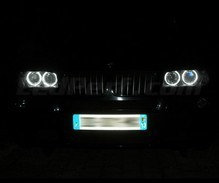 Pack angel eyes à leds pour BMW X3 E83 - Standard