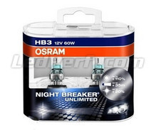 Pack de 2 Ampoules HB3 Osram Night Breaker Unlimited