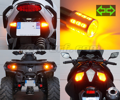 pack clignotants arri re led pour moto guzzi sport 1200. Black Bedroom Furniture Sets. Home Design Ideas