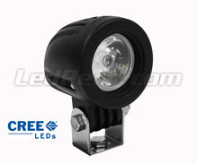 Phare additionnel LED CREE Rond 10W pour Moto - Scooter - Quad