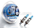 Pack de 2 Ampoules H1 Philips BlueVision Ultra
